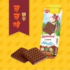 幸福庄园幸福庄园牌进口美味香甜饼干五种口味任你选 270g*24袋 箱装