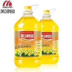 美津园绿色非转基因物理压榨纯正菜籽油 5L 桶装