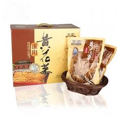 天志黄花菜7芯黄花菜淮阳特产陈州特有 150g*5袋 箱装
