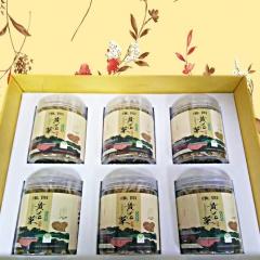 天志黄花菜淮阳土特产精品礼盒 200g*6瓶 箱装