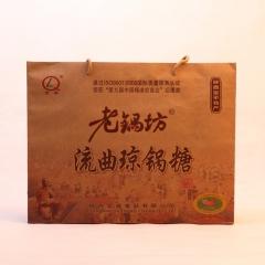 老锅坊地标陕西富平特产白芝麻琼锅糖礼盒装 1200g 盒装