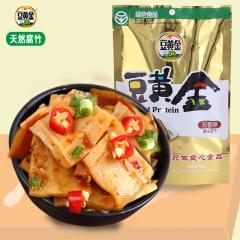 豆黄金绿色豆干食品(鸡汁、五香、麻辣、山椒、烧烤五味可选) 120g*3袋 袋装