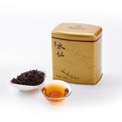 鹭岩茗茶海丝情武夷水仙武夷山原叶采摘传统工艺制作而成 125g 罐装