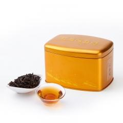 鹭岩茗茶海丝情金罐大红袍武夷山原叶采摘传统工艺制作而成 57.5g 罐装