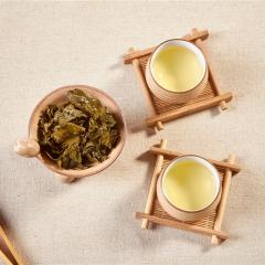 鹭岩茗茶海丝情金罐浓香铁观音安溪原叶采摘传统工艺制作而成 108g 罐装
