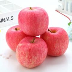 洛川红富士绿色多果乐洛川优质脆甜红富士85#12个装 4kg 箱装