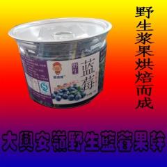 邋遢猪野生蓝莓果干 100g 罐装