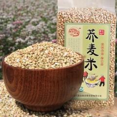 老农印象陕北旱收农家自种红花荞麦米杂粮 460g*1 袋装