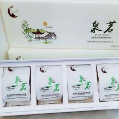 北纬33度有机茶 2018新茶上市明前特级泉茗 60g*4条 箱装