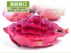 新鲜海南红心火龙果 2.5kg 箱装