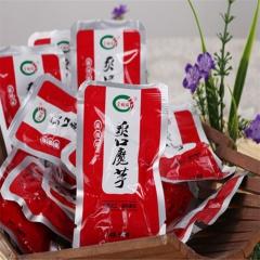 官胡同魔芋脆散装称重(香辣、泡椒、烧烤味) 1KG 袋装