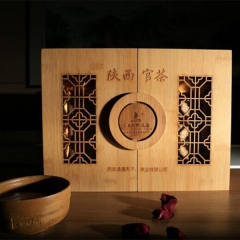 道通天下茯茶陕西官茶茯茶 850g 盒装