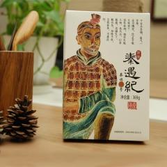 道通天下茯茶秦俑肆号茯茶 369g 盒装