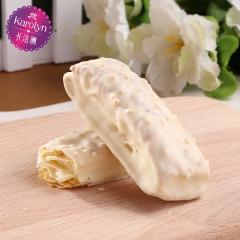 卡洛琳小姿松塔进口白巧克力涂层盒装200g 200g 扁桃仁味