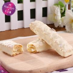 卡洛琳法式松塔进口白巧克力涂层盒装198g 198g 扁桃仁味