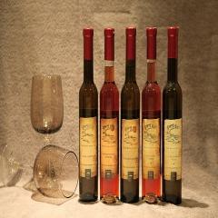 海尔 维达尔白冰葡萄晚收酒 375 ml 瓶装