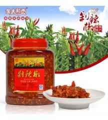 金太和贡剁辣椒 1.25kg 瓶装