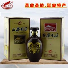 刺榆延安米酒半甜型纯粮黍米糜子黄米酒10度750ml瓶装礼盒 750ml 瓶