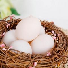 天水间富硒白鹜鸭蛋30枚 1.25kg 箱