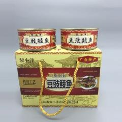黎小泽豆鼓鲮鱼罐头礼盒装208g*2罐