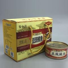 黎小泽豆鼓鲮鱼罐头208g*3罐 624g 盒装