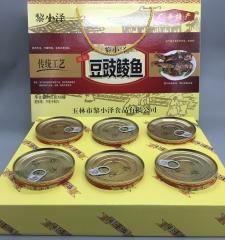 黎小泽豆鼓鲮鱼罐头208g*6罐 1.248kg 盒装